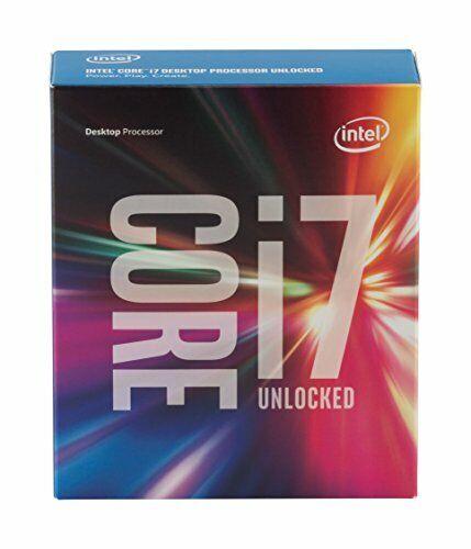 Intel Core i7-6700K Processor 4GHz 8MB Cache LGA1151 Boxed W