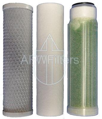 AFK-Omega filter kit replacement set for RO/DI aquarium sediment, carbon, DI