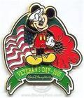 Disney Veterans Day Pin