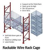 Folding Wire Rack Cage - 890 H x 1200 W x 1100 D Murarrie Brisbane South East Preview