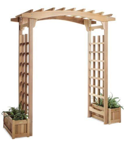 Wood Arbor: Arches & Gazebos | eBay