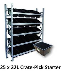 Colby Longspan 25 x 22L Crate-Pick Starter Bay Murarrie Brisbane South East Preview