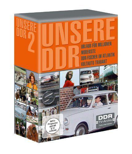Unsere DDR - Box 2 - DDR-Fischer im Atlantik u.a.- 4 DVD Box - Neu u. OVP