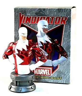 Marvel VINDICATOR busto resina 16cm ltd 2000 Bowen