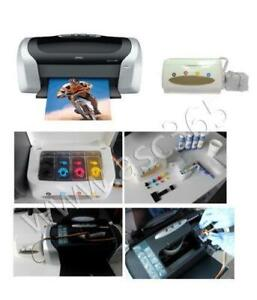 Epson C88 Printer With the Blank Continuous Ink Supply System for Sublimation Printing #012503