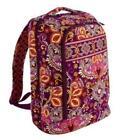 Vera Bradley Laptop Backpack Safari Sunset