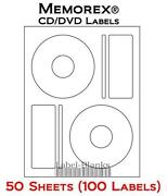 Memorex CD Labels