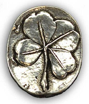 Clover Pocket Stone Talisman, Worry Comfort Stone!