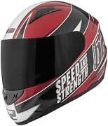 Red and Black Motorcycle Helmet