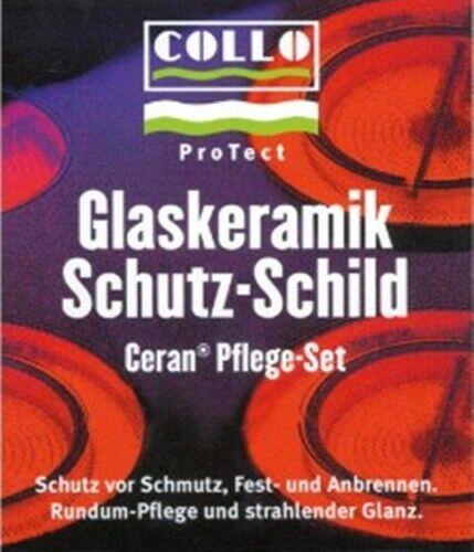 COLLO ProTect Glaskeramik Kochfeld Schutz Pflegemittel Pflegeset Reinigungsset
