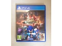 Sonic Forces [DLC Unused] PS4