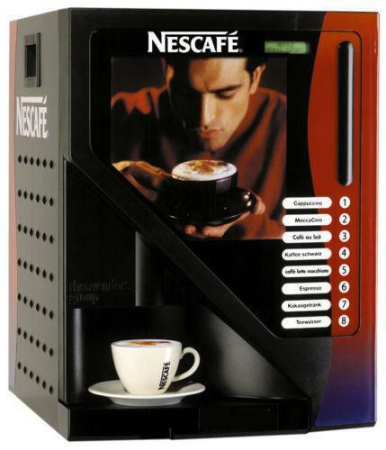 nescafe kaffeeautomat kaffee bar technik ebay. Black Bedroom Furniture Sets. Home Design Ideas