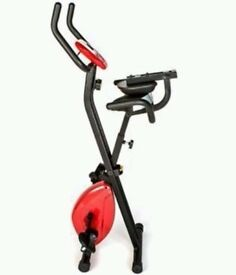 Bargain Folding Exercise Bike Comfort Plus Weight Loss/Diet/Cardio RED