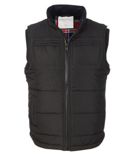 Black Puffer Vest Men Ebay