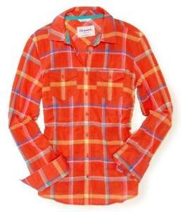 Womens Plaid Shirt Ebay