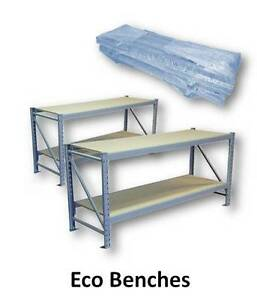 Economy Bench 900H x 1920W x 650D with 18mm Top and Shelf Murarrie Brisbane South East Preview