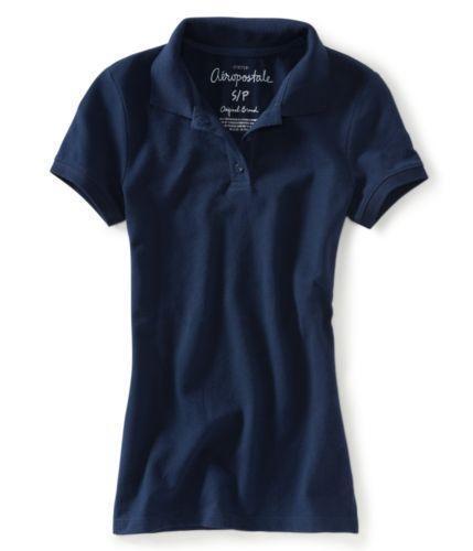 Womens Navy Blue Polo Shirts Ebay
