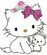 Hello Kitty Fensterbilder