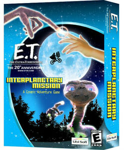 E.T. Interplanetary Mission, PC Game NEW IN BOX by Ubisoft