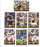 2012 Topps Vikings Team Set