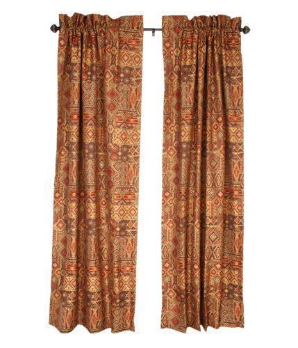 Southwest Curtains Ebay