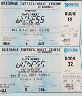 Queensland Concerts 2 Tickets