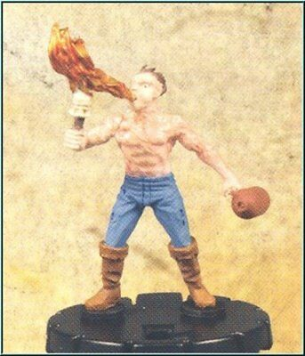 HorrorClix: Firebreather - 023 [Figure with Card] Freakshow Miniatures HeroClix