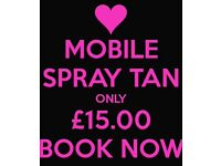 Mobile Spray Tan