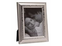 """Box of 24 Silver Plated Picture Photo Frames 5"""" x 7"""" Inches - CHEAPER THAN WHOLESALE! - SKU 4157"""