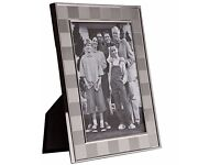 """Box of 36 Silver Picture Photo Frames 5"""" x 7"""" Inches - SKU 9657"""