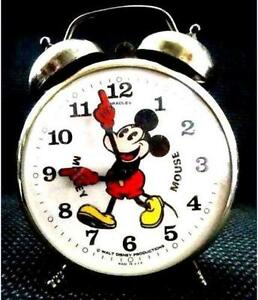 Mickey Mouse Clock Ebay