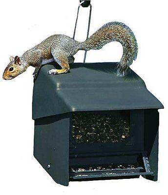 Homestead Super Stop-A-Squirrel Bird Feeder Green River Texture 355230 NEW