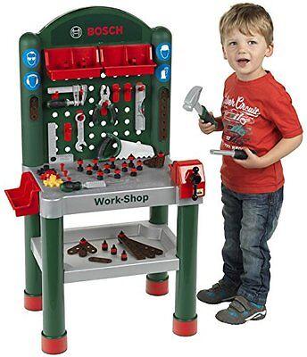 Theo Klein Bosch Mini Kinder Werkbank Workshop Spielzeug-Werkbank Jungen NEU