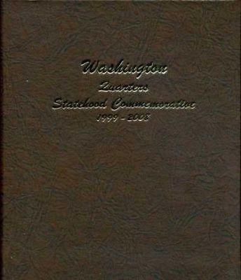 New Dansco Washington Statehood State Quarters 1999 To 2008 Coin Album 7143