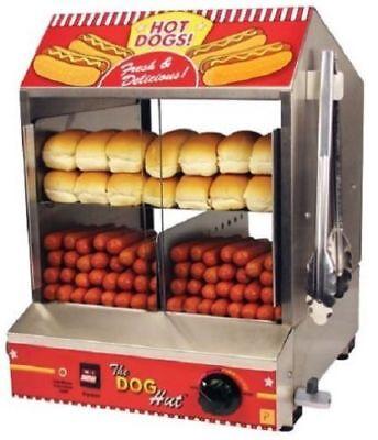 Hot dog steamer, hot dog machine, paragon hot dog steamer, commercial, USA MADE