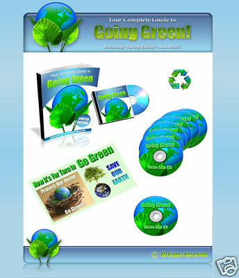 Go Green Website With Adsense Rss Ebooks Blog Theme