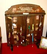 Vintage Fishing Display