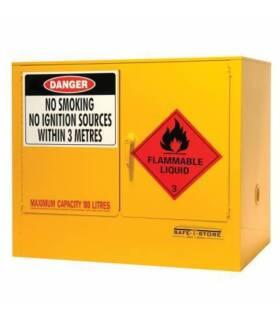 Under Bench Flammable Cabinet Storage (100L) Brisbane