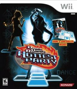 Dance Dance Revolution Hottest Party (Game & Dance Pad) - Wii