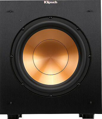Open Box Excellent  Klipsch   Reference 10  300W Powered Subwoofer   Black