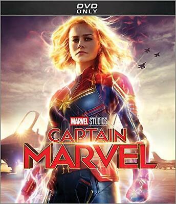 Captain Marvel 2019 DVD