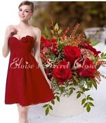 Claret Bridesmaid Dress