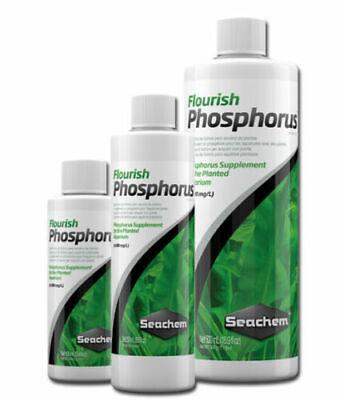 Seachem Flourish Phosphorus 100ml 250ml 500ml Aquarium Plant Fish Tank -