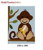 Crochet Baby Monkey Afghan Patterns