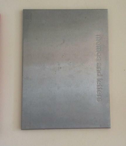 stainless magnetic notice board ebay. Black Bedroom Furniture Sets. Home Design Ideas