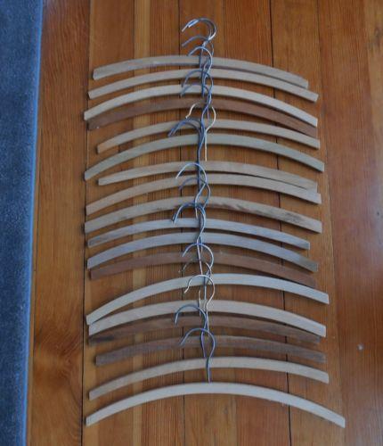 Vintage Wooden Hangers Ebay