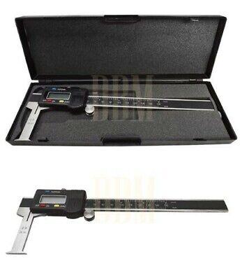 Digital 6 Inside Groove Vernier Caliper Ruler Micrometer Gauge Indicator