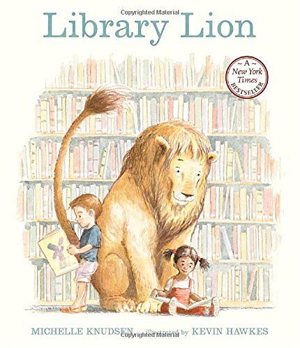 Library Lion-Michelle Knudsen, Kevin Hawkes