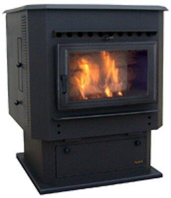 Corn Fuel Stove - Big Biomass Burner Multi-Fuel Corn Wood Pellet Stove Furnace, 56,000 BTU/Hour