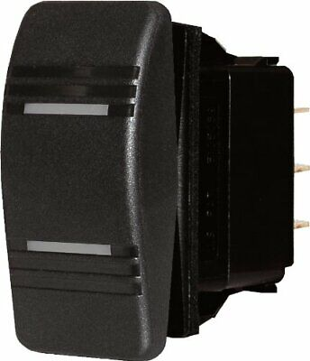 Blue Sea Systems 8286 Contura Switch, Black, Dpdt On-off-on